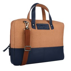 Hammonds Flycatcher Ecofriendly Leather And Canvas Bag