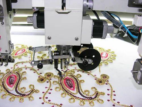 Embroidery Machine Multi Head Embroidery Machine Wholesale Trader