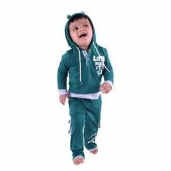 Full Sleeve Boys Hoodie Baba Suit, Size: 6 to 24 Months