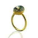 Glass Opal Gemstone Rings