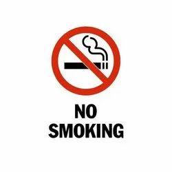 No Smoking Sign Board