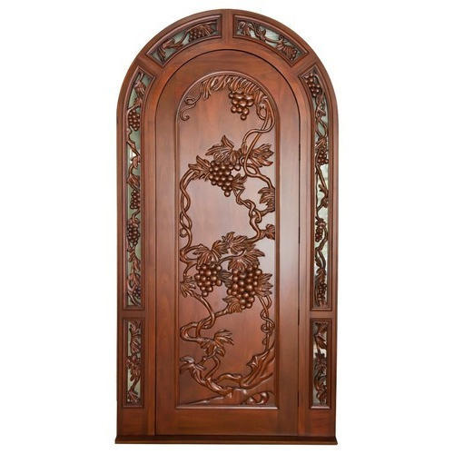 Ordinaire Wooden Curved Door