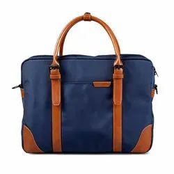 The Classic Navy Blue Messenger Bag