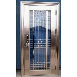 Hinged Single Door Steel Safety Door