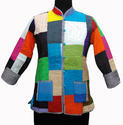 Patchwork Quilted Ladies Jacket
