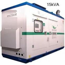 15kVA Kirloskar Green Silent Generator
