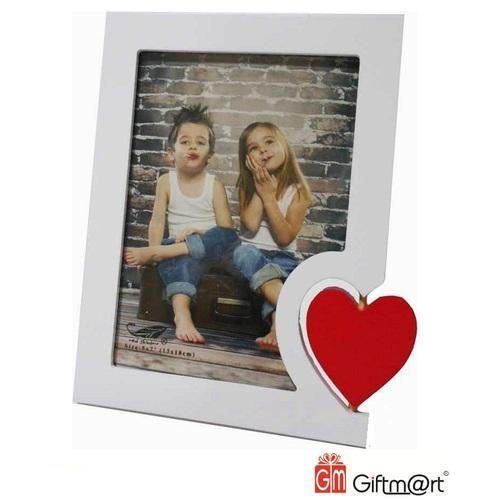 5 X 7 Wooden Heart Photo Frame At Rs 300 Piece Lakdi Ke Photo