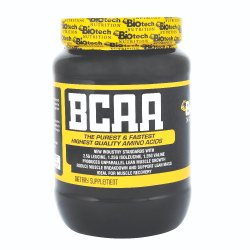 Biotech Nutrition Unflavored BCAA Powder