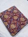 Printed Regular Wear Cotton Dress Material, Size: Multicolor