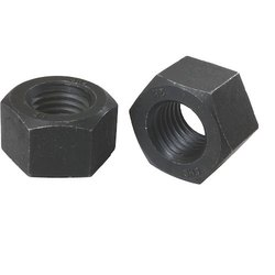 Carbon Steel 2H Nuts, Shape: Hex, Size: M-16 To M-120