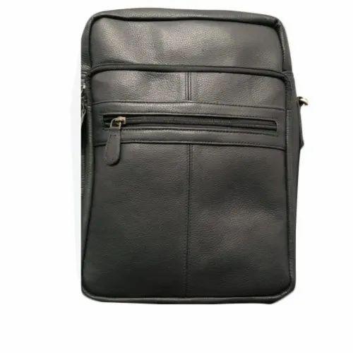 aa73965d5e3 Black Ladies Leather Side Bag