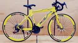 Yellow Neo Gear Bicycle