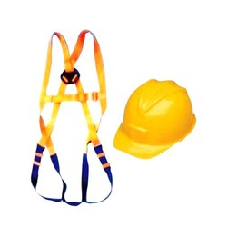 Safety Belt and Helmet
