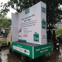 Banner Vehicle Branding Mobile Van Advertisement Service, in Local, Offline