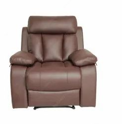 Recliners India Leather Recliner Chair, For Home