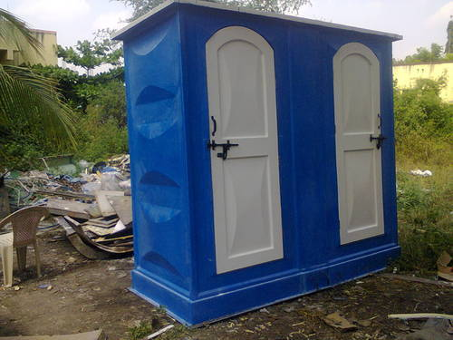FRP Portable Joint Toilet Cabin