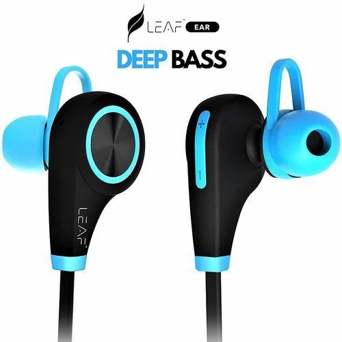 2034c8d2b14 Blue Leaf Wireless Bluetooth Earphones With Mic, Rs 1920 /piece | ID ...