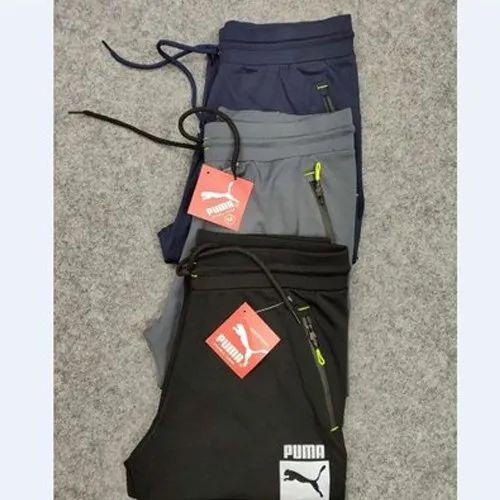 Regular Fit Casual Wear Dryfit Mens 4 Way Lycra Track Pants
