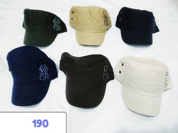 Fashion Caps, Stylish Caps, Embroidery Caps, Code 190