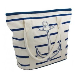 Striped Pattern Promotional Tote Bag