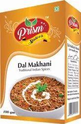 Prism Dal Makhani Masala, Packaging Size: 50-100g