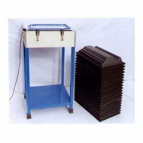 Mild Steel Concrete Roofing Tile Making Machine, Voltage: 380 V