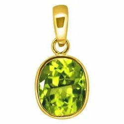 Peridot Pendant Women and Men Panchdhatu Gemstone