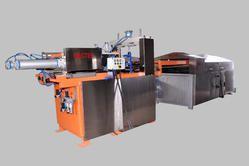 Fully automatic pneumatic chapatti making machine - cooked chapatti