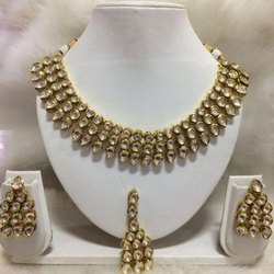 Party Wear Kundan Necklace Set
