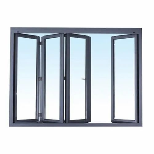 Powder Coated Aluminum Glass Window for Home
