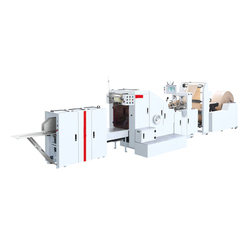 Roll Feed Type Square Bottom Paper Bag Making Machine