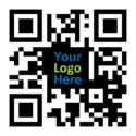Qr Code Custom Sticker, Packaging Type: Standard