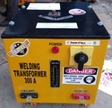 Remote Controlled Welding Transformer