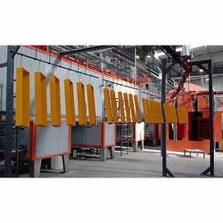 Batch Type Powder Coating Plant