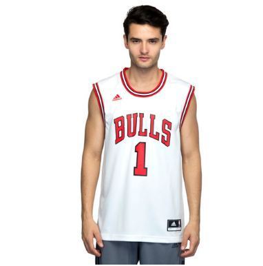 quality design aec1b 0dea2 Mens Basketball Int Replica 1 Bulls Jersey