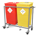 Bio Medical Waste Bin with Frame