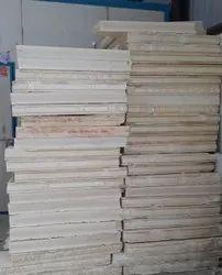 White KIA 100mm PUF Slab Panels, Size: Standard, 40kg/M3