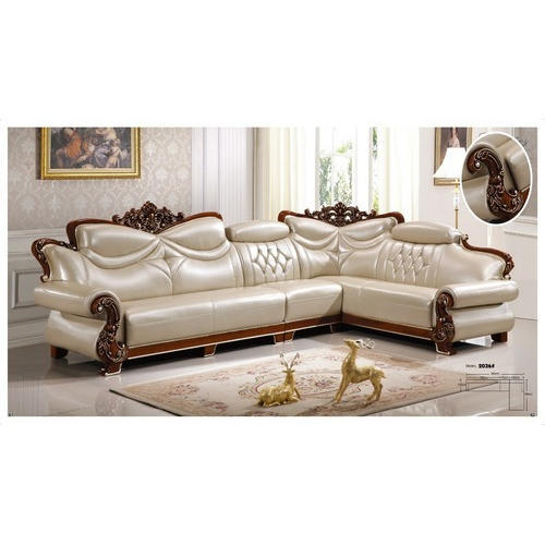 Traditional L Shaped Sofa