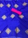 Women's Heavy Embroidery Work Cotton Saree