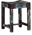 Reclaimed Wooden Rustic Stool