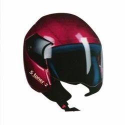 MTS Pink Open Face Helmet stoner 02, Size: XL