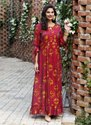 Gown Style Party Wear Kurtis