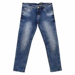 Double knitting Denim Jeans