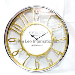 Decorative Golden Finish Wall clock