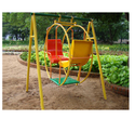 Ankidyne Multicolor Circular Swing (frp/wooden), Seating Capacity: 2