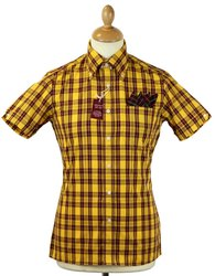Men Casual Wear Check Print Shirt