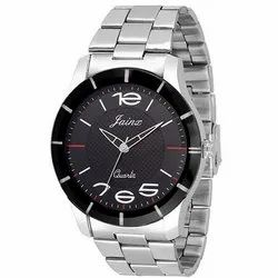 Jainx Black Dial Analog Watch for Men & Boys JM220