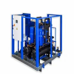 Shree Refrigerations Three Phase Water Cooled Chiller, Capacity: 1 Tr To 40 Tr