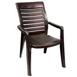 Brown With Hand Rest (Arms) 2180 Nilkamal Chair