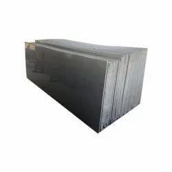 Polished Rajasthan Black Granite Slab, Thickness: 18 mm